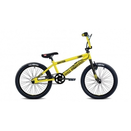 "BMX BIG DADDY 20"" jaune/noir 2017"