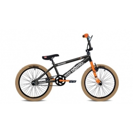"BMX BIG DADDY 20"" noir/orange/brun 2017"