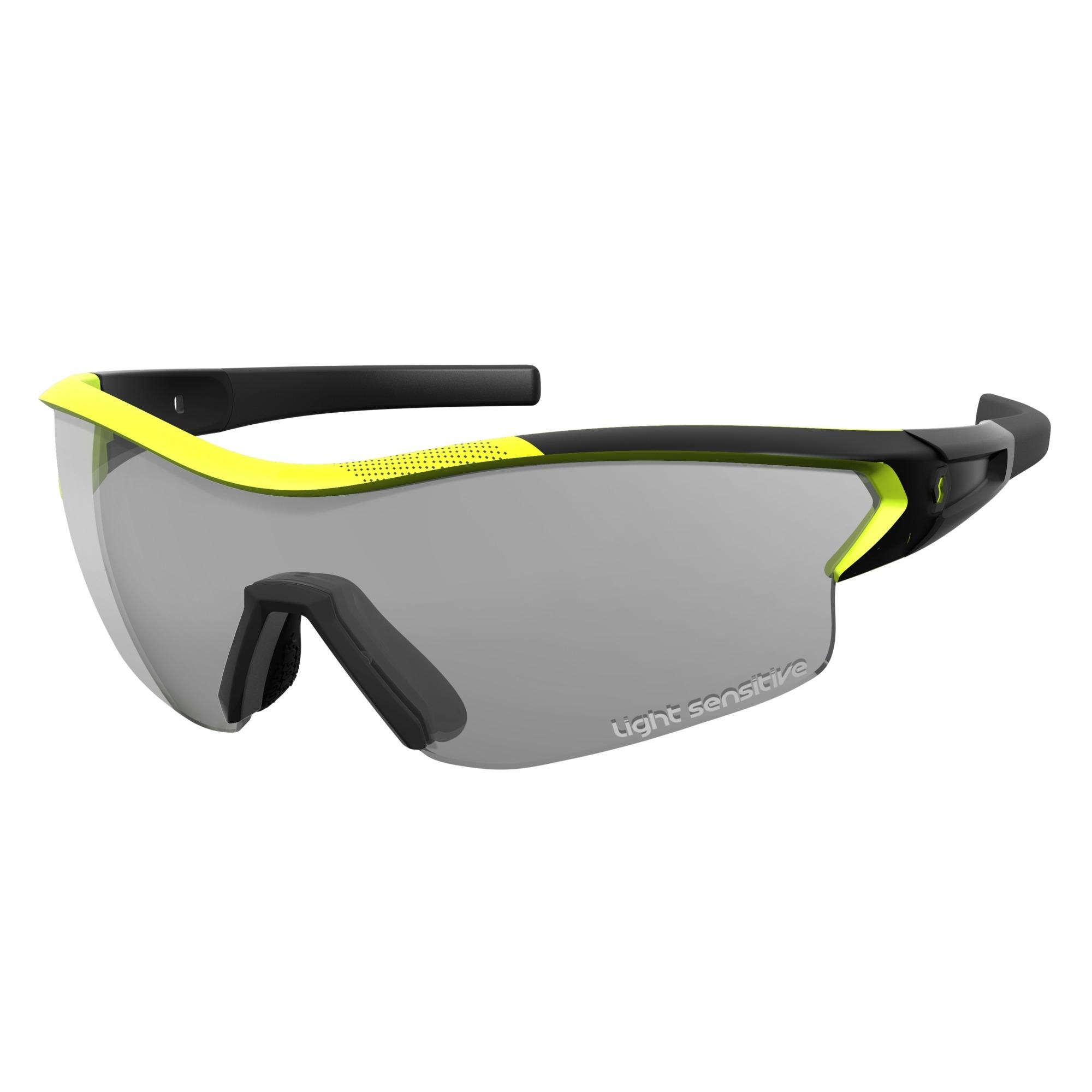 Scott Vector Vélo Lunettes de sport Vert/Jaune/Vert Chrome oBEWWd