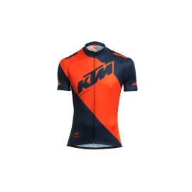 Maillot de course manches courtes KTM Factory Line orange/bleu 2018