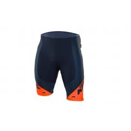 Cuissard court KTM Factory Line orange/bleu 2018