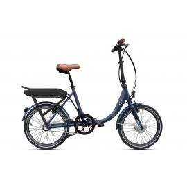 Vélo pliant à assistance électrique O2Feel Peps N3 Bleu 374Wh 2018