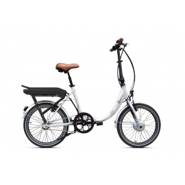 Vélo pliant à assistance électrique O2Feel Peps N3 Blanc 374Wh 2018