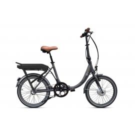 Vélo pliant à assistance électrique O2Feel Peps N3 Gris 374Wh 2018