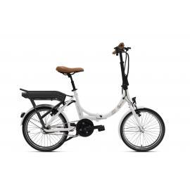Vélo pliant à assistance électrique O2Feel Peps N7C Blanc 374Wh 2018