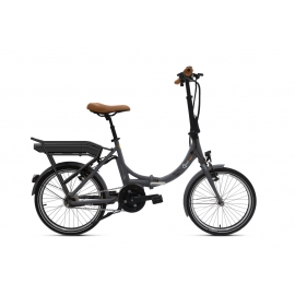 Vélo pliant à assistance électrique O2Feel Peps N7C Gris 374Wh 2018