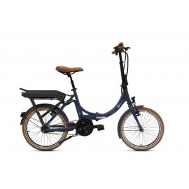 Vélo pliant à assistance électrique O2Feel Peps N7C Bleu 504Wh 2018