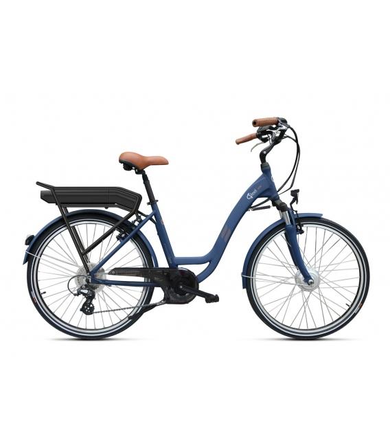 Vélo à assistance électrique O2Feel Vog D7 26 Bleu 374Wh 2018