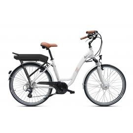 Vélo à assistance électrique O2Feel Vog D7 26 Blanc 374Wh 2018