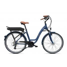 Vélo à assistance électrique O2Feel Vog D7 26 Bleu 504Wh 2018