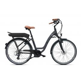 Vélo à assistance électrique O2Feel Vog D7 26 Gris 504Wh 2018