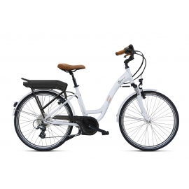 Vélo à assistance électrique O2Feel Vog D8C 26 Blanc 374Wh 2018
