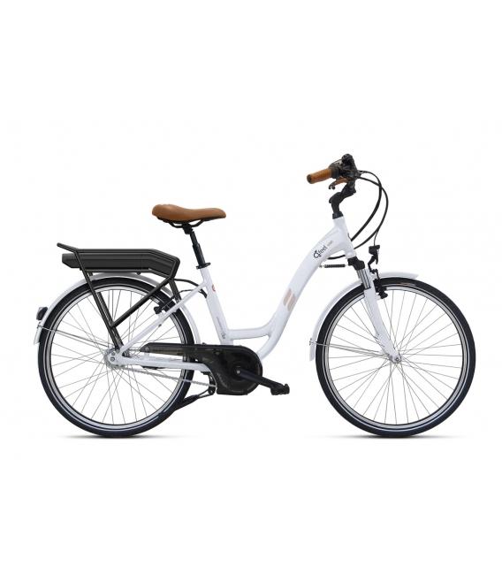 Vélo à assistance électrique O2Feel Vog N7C 28 47 Blanc 374Wh 2018