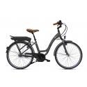 Vélo à assistance électrique O2Feel Vog N7C 28 47 Gris 374Wh 2018