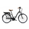 Vélo à assistance électrique O2Feel Vog N7C 28 47 Gris 504Wh 2018