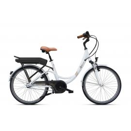 Vélo à assistance électrique O2Feel Valdo N3C Blanc 374Wh 2018