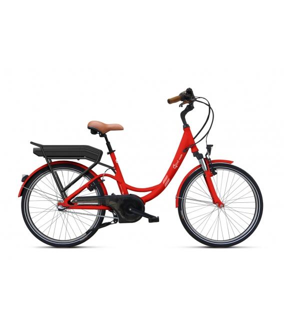 Vélo à assistance électrique O2Feel Valdo N3C Rouge 374Wh 2018