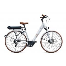 Vélo à assistance électrique O2Feel SWAN N8 - Blanc 28 50 504Wh 2018