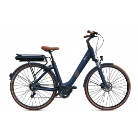 Vélo à assistance électrique O2Feel SWAN Di2 Alfine 8 - Bleu 28 50 504Wh 2018
