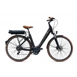 Vélo à assistance électrique O2Feel SWAN Di2 Alfine 8 - Noir 28 55 504Wh 2018