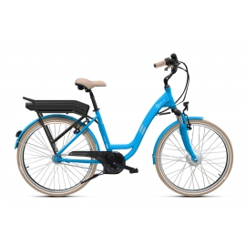 Vélo à assistance électrique O2Feel Vog N7 26 skyblue 374Wh limited 2018