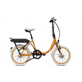 Vélo pliant à assistance électrique O2Feel Peps N3 orange 374Wh limited 2018