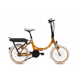 Vélo pliant à assistance électrique O2Feel Peps N7C orange 374Wh limited 2018
