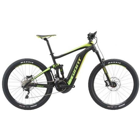 VTT à assistance électrique Giant FULL E+2 S5 Sport noir/vert 2018