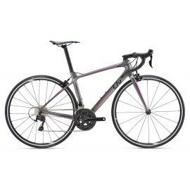 Vélo de route Giant LIV Race Langma Advanced 2 Argent 2018