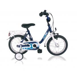 "Vélo garçon PASSION 14"" roue libre bleu/blanc 2018"