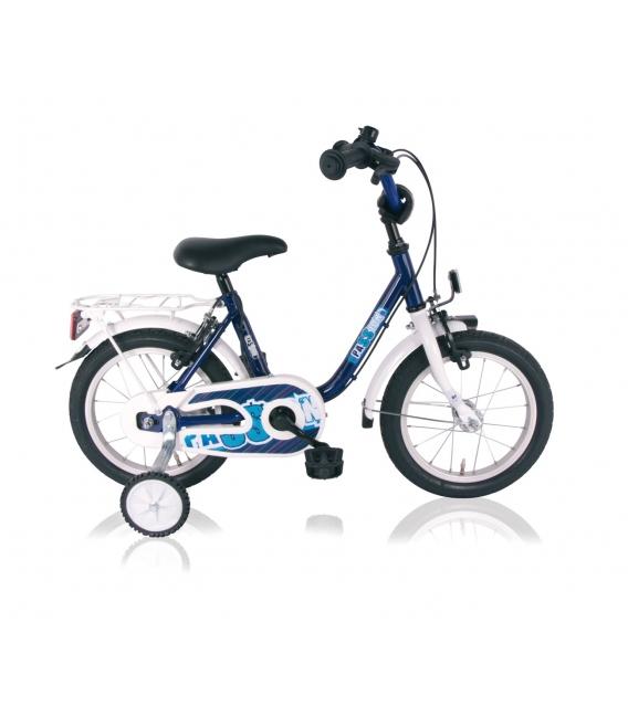 "Vélo garçon PASSION 16"" torpédo bleu/blanc 2018"