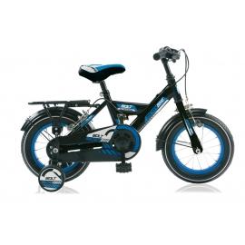 "Vélo garçon MICKEYBIKE 12"" noir/bleu 2018"