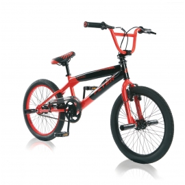 "BMX freestyle FLYER 20"" noir/rouge 2018"