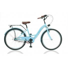 """Vélo fille AMAZONE 22"""" torpédo bleu 2018"""