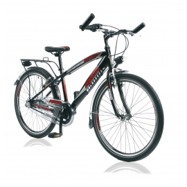 "Vélo garçon MAXX 20"" torpédo noir/rouge 2018"