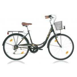 """Vélo fille AVIGNON 26"""" noir 2018"""