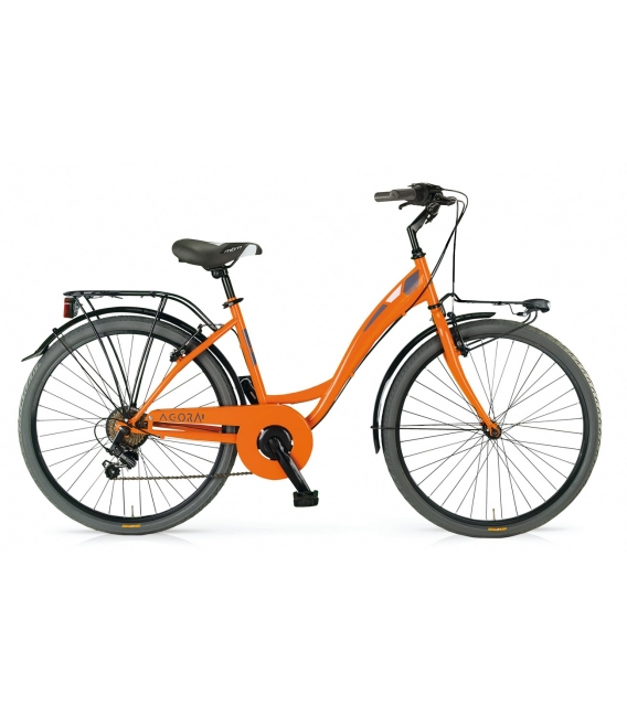 "Vélo fille AGORA 26"" orange 2018"