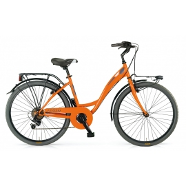"Vélo fille AGORA 26"" orange 2018"