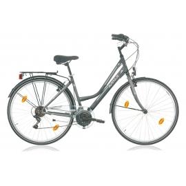 """Vélo de ville AVENUE 28"""" 6 vit. dame anthracite 2018"""