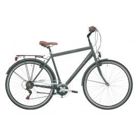 """Vélo de ville CENTRAL PARK 28"""" 18 vit. Homme gris 2018"""