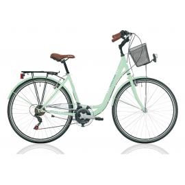 """Vélo de ville CENTRAL PARK 28"""" 18 vit. dame vert 2018"""