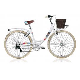 """Vélo de ville dame COLORS 28"""" blanc 2018"""