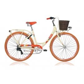 """Vélo de ville dame COLORS 28"""" crème 2018"""
