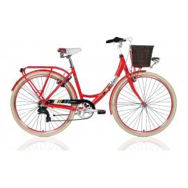 """Vélo de ville dame COLORS 28"""" rouge 2018"""