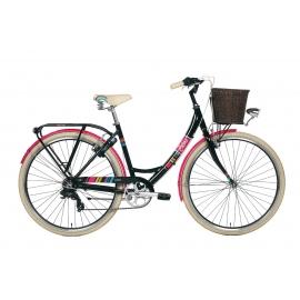 """Vélo de ville dame COLORS 28"""" noir 2018"""