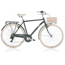 """Vélo de ville APOSTROPHE 28"""" homme noir 2018"""