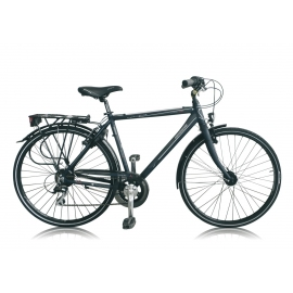 """Vélo de ville TARANTO 400 28"""" homme noir/gris 2018"""