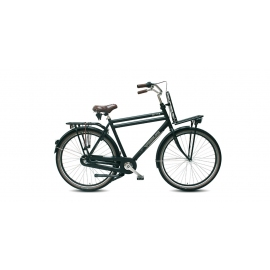 "Vélo de transport VOGUE ELITE 28"" homme noir 2018"