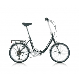 "Vélo pliant BLOIS 6V 20"" noir 2018"