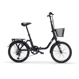 "Vélo pliant KANGAROO 6V 20"" noir 2018"